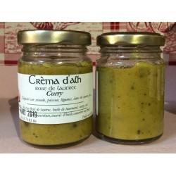Crème d'ail curry
