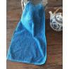 Serviette éponge invité bleu de Pastel