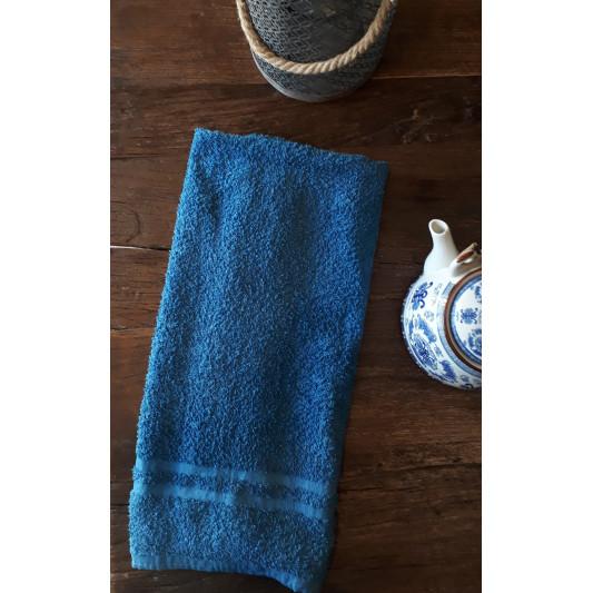 Serviette de bain bleu de Pastel