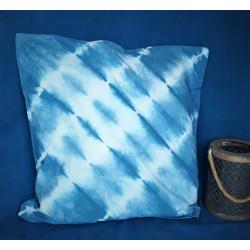 Taie d'oreiller bleu de pastel